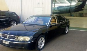 Private taxi Melbourne BMW7